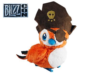 魔兽世界 海盗佩佩 毛绒玩具