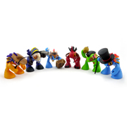魔兽世界 鱼人宝宝六只组合套装