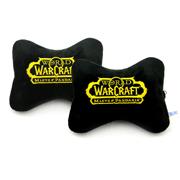 魔兽世界Logo颈枕(一对) 经典金色款