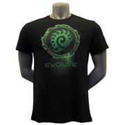 星际争霸进化T恤 StarCraft II Evolve Conquer T-Shirt