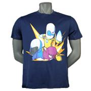 爆笑星际主题T恤-深蓝色款