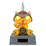魔兽世界 燃烬猫仔Q版太阳能招财猫