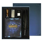 魔兽世界 巫妖王之怒 阿尔萨斯 笔记本精装版套装