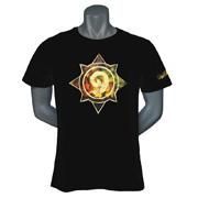 炉石传说 烫金T恤 黑色