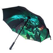 魔兽世界 伊利丹·怒风 双层长柄雨伞