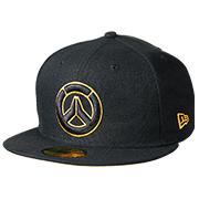 守望先锋 new era logo 棒球帽