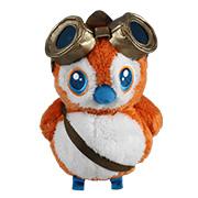 魔兽世界 橘红旅者佩佩 毛绒玩具
