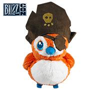 预售 魔兽世界 海盗佩佩 毛绒玩具