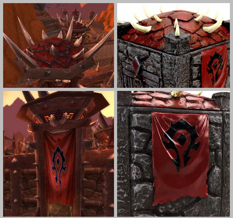 魔兽部落旗帜壁纸