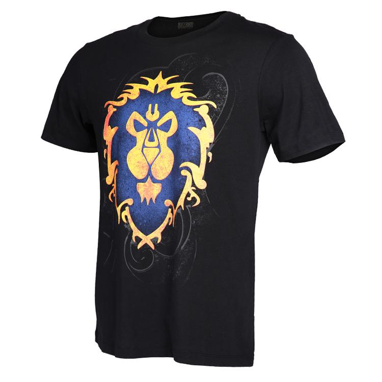 预售 魔兽世界 联盟logo t恤