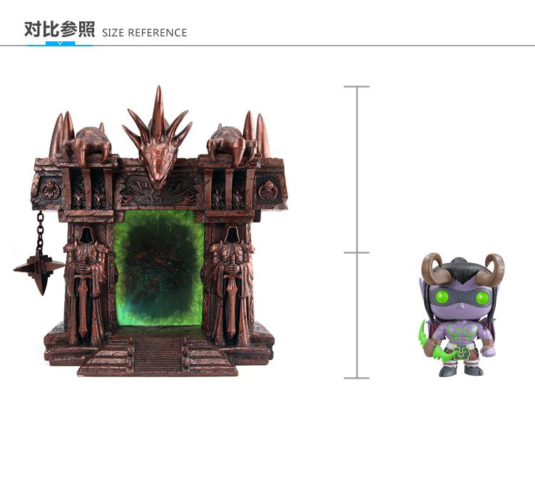 魔兽世界 黑暗之门 树脂相框