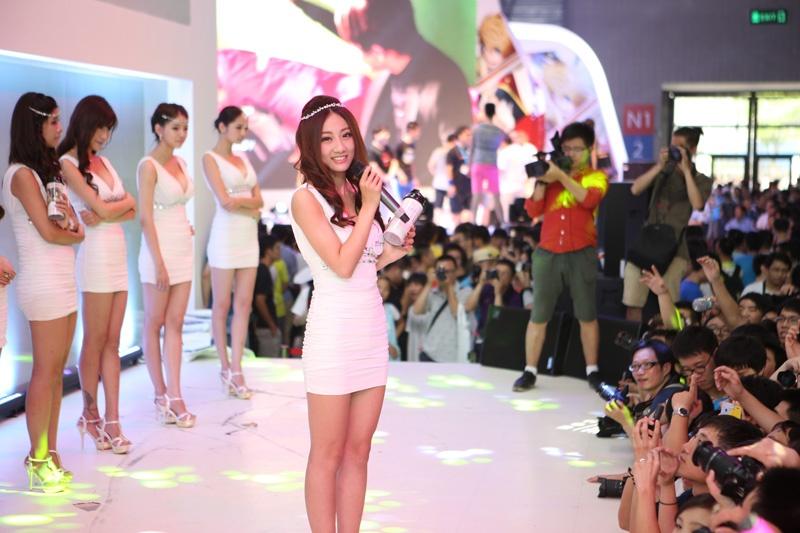 Chinese Show Girls ChinaJoy Photo 2