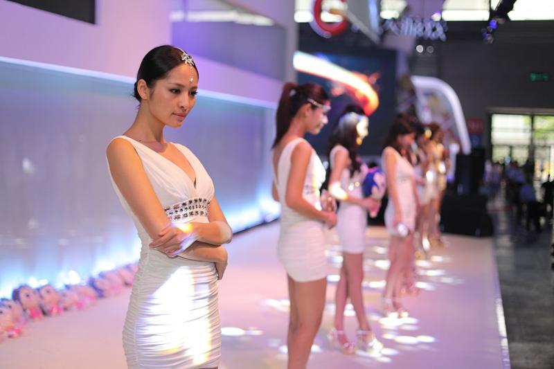 Chinese Show Girls ChinaJoy Photo 1