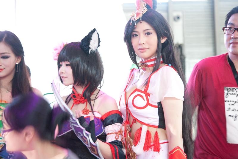 Chinese Girl Cosplay at ChinaJoy Photo 1